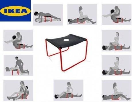 IKEA выпустила сексуальные стулья