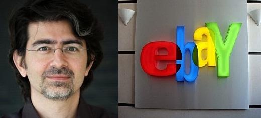 Пьер Омидьяр, основатель eBay