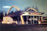 Первый ресторан McDonald's открытый по франшизе