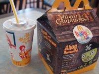 Набор еды и фирменных игрушек Хеппи Милл от McDonald's