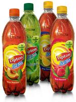 Охлажденный чай Lipton в бутылочках