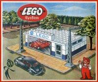 Набор «LEGO» автосалон, 1958 год