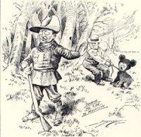 Карикатура Берримана