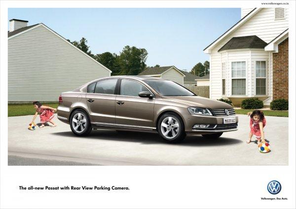 Volkswagen Passat: Хороший обзор не только спереди
