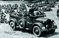 Военный автомобиль 1940 года «Horch 901»
