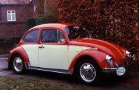Автомобиль Volkswagen Beetle (Жук) 1990 года