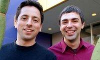 Основатели Google Сергей Брин (слева) и Ларри Пейдж (Справа)