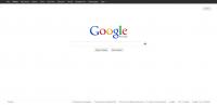 Главная страница поисковой системы Google Россия