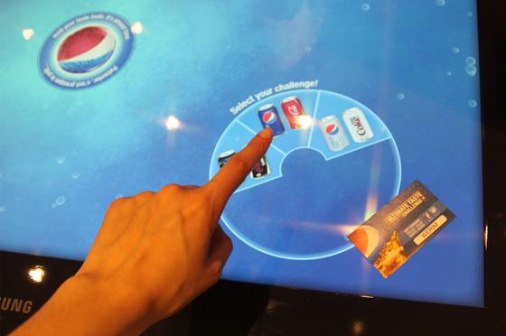 Дегустация вслепую от Pepsi