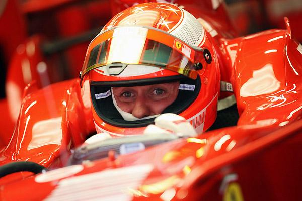 """Михаэль Шумахер. """"Красный барон Формулы-1""""."""