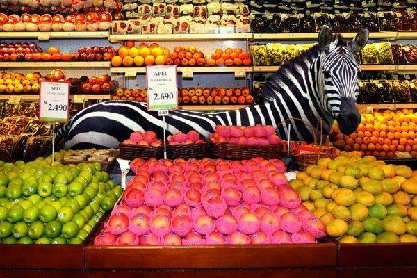 Расположение магазина: Бизнес в тени супермаркета