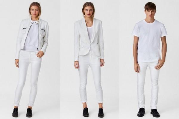 Белая футболка - в моде навсегда