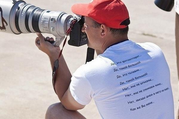 На каком месте в нашей жизни стоят футболки с надписями?