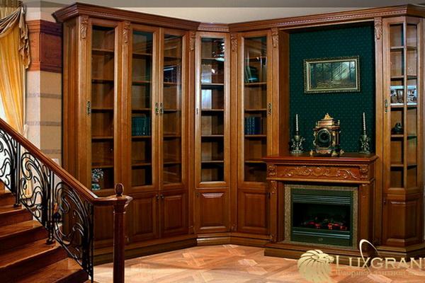 Качественная дорогая мебель из натурального дерева