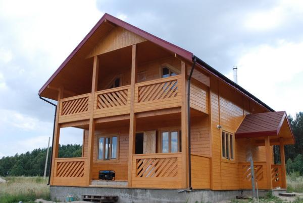 Лаконично о строительстве каркасных домов