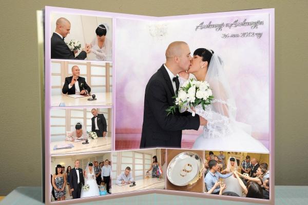 Оформление свадебной фотокниги