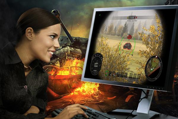Онлайн игры MMORPG