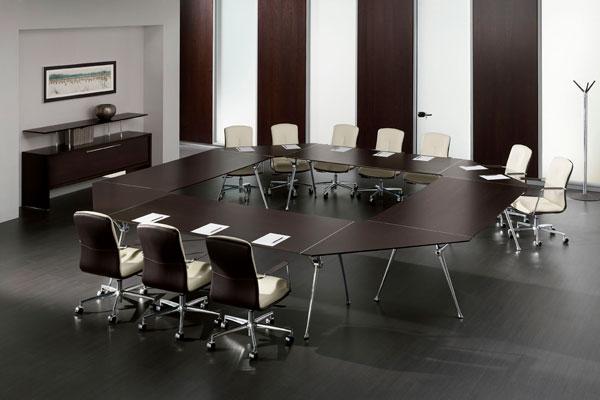 Виды столов для переговоров