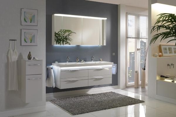Мебель для ванной комнаты: материалы и характеристики