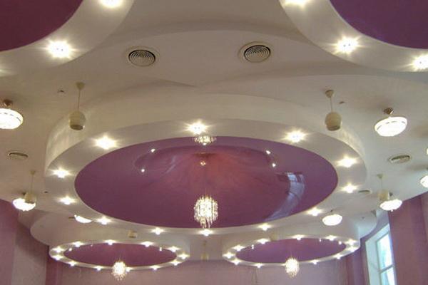 Основные аспекты дизайна подвесных потолков